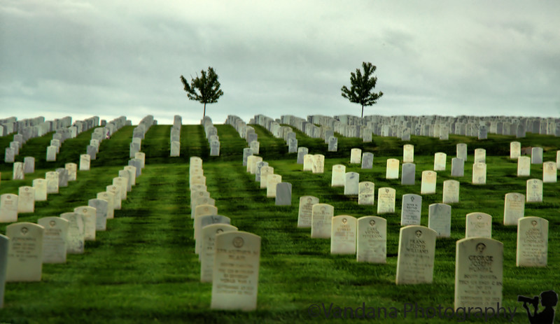 July 2, 2009 - Cheyenne, WY to Rapid City, SD.<br /> The Black Hills National Cemetery, SD