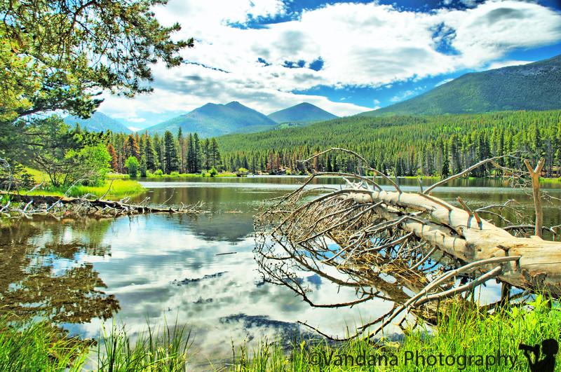 July 1, 2009 - to Sprague lake, Rocky mountain national park, CO