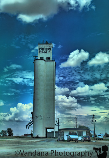 passing by the Farmer's corner at Clovis, NM