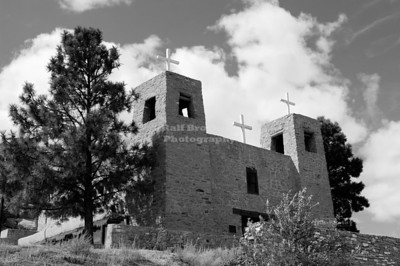 Mission Santa Maria, McCarty's, San Fidel, New Mexico, USA