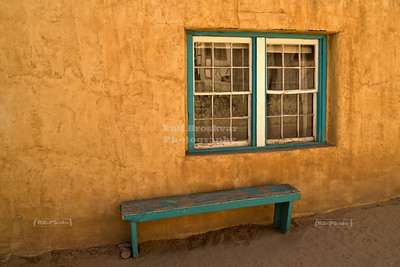 Bench and Window - Acoma Pueblo, New Mexico, USA