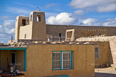 San Esteban Del Rey Church and Convent in Sky CIty, Acoma Pueblo, New Mexico, USA