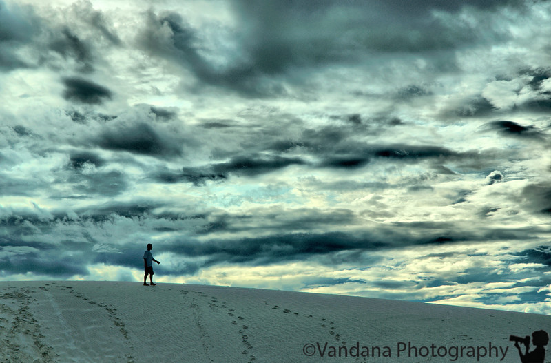 At White Sands National Monument