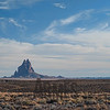 "Shiprock (Navajo: Tsé Bit'a'í, ""rock with wings""), San Juan County, New Mexico"
