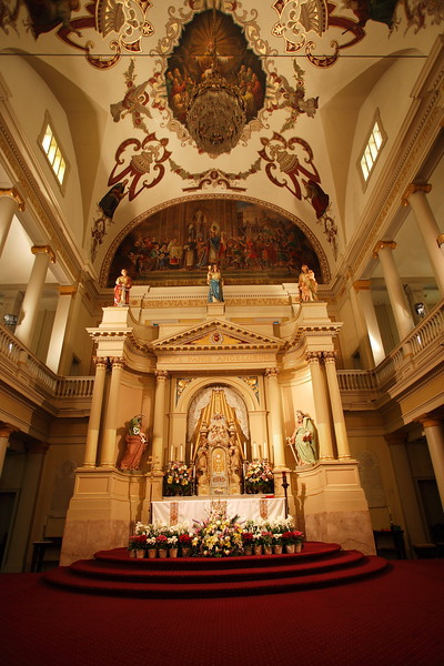 The Cathedral-Basilica of St. Louis King of France ~ oldest Catholic cathedral in continual use in the United States.<br /> ~ Images by Martin McKenzie ~ All Rights Reserved