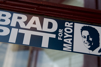Bradd Pitt for Mayor