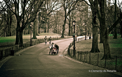 A stroll in Central Park, New York City, USA