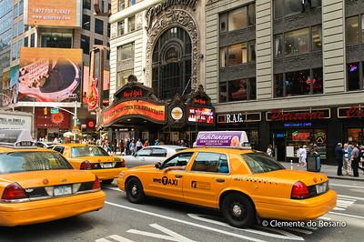 Hard Rock Cafe on Broadway, New York City,USA