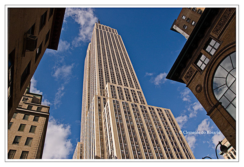 Empire State Building Manhattan New York City New York USA