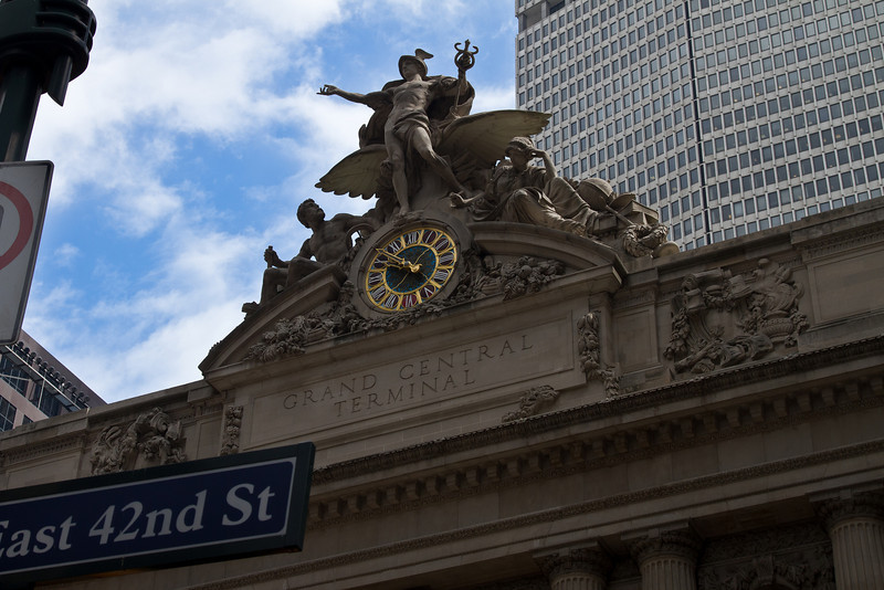 Entrance to Grand Central Station