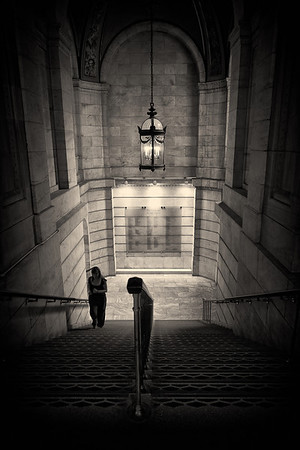 Stairwell - New York Public Library