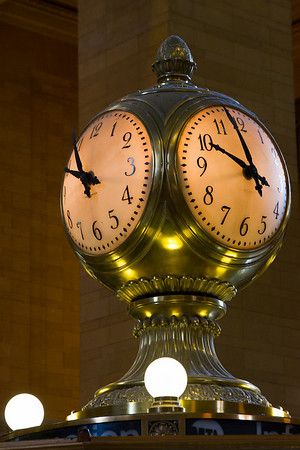 The Clock in Grand Central
