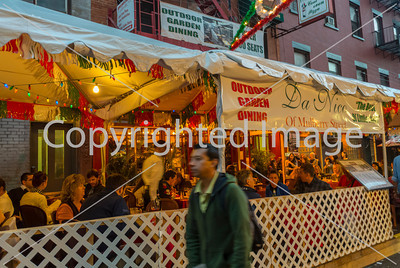 New York, NY, USA, Little Italy Neighborhood, San Gennaro Food Festival, Street Scenes, Italian Food Stalls on Mulberry St., Manhattan ,