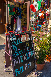 "New York, East Village Shopping, ""La Sirena"" Mexican Art"