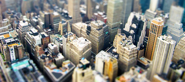 Mini Manhattan (Tiltshift image)
