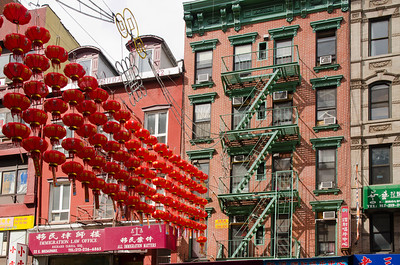 Der Broadway in Chinatown, New York