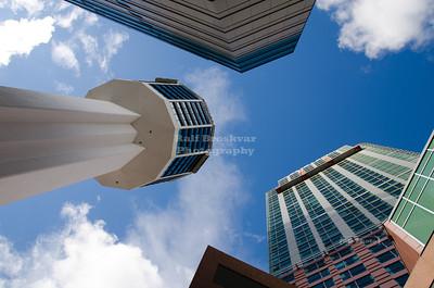 Skyscrapers in Niagara Falls
