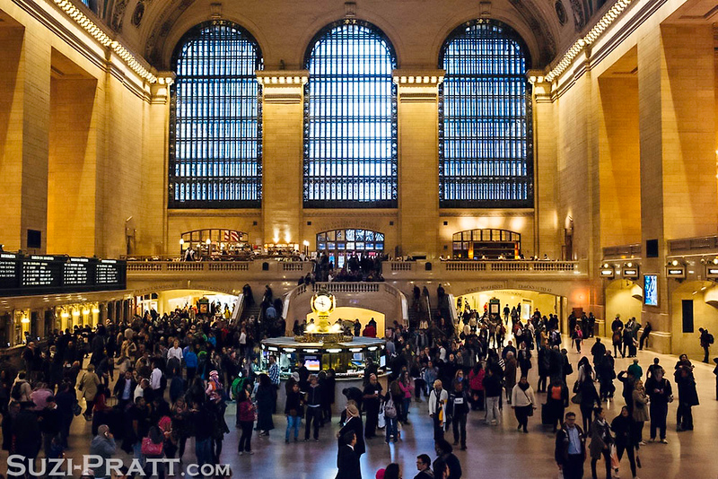 Grand Central Station in New York City in Fall 2014