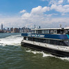 New York City, NY, USA, Tourists Visiting Hunter's Point, Outside, South Park, Brooklyn District, East River