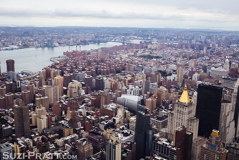 Empire State Building in New York City in Fall 2014