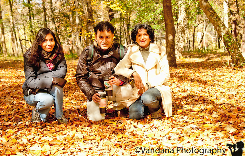 October 29, 2011 - Madhuchhanda, K and V at Bryson City, NC - we're meeting Madhu after about 10yrs, but we took off where we left off ! took a 4.5 cold, breezy train ride on the great smoky mountain railroad to view the fall in a open gandola..more pics to come later..