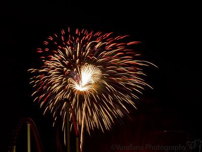 Charlotte - July 4th Fireworks