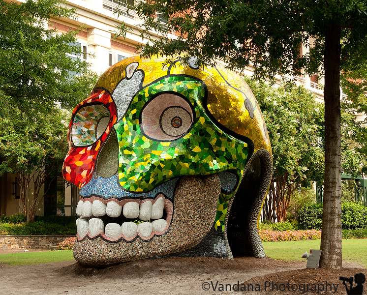 September 4, 2011 - Le Cabeza, outdoor art in uptown Charlotte