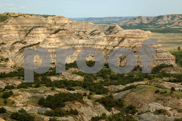 The badlands in Theodore Roosevelt National Park, North Unit in western North Dakota. License this photo on Getty Images © Rob Huntley