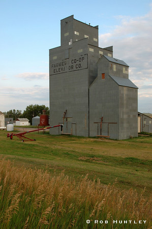 Grain Elevator, Watford City, North Dakota.