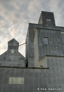 Grain Elevator, Watford City, North Dakota. HDR. The elevator says Farmers Co-op Elevator Co. on the other side. However, it is now owned by Horizon Resources. License this photo on Getty Images © Rob Huntley