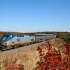 Amtrak photo of the the Heartland fluyer passing near Davis, OK
