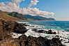 The coast of Oahu near Kaena Point