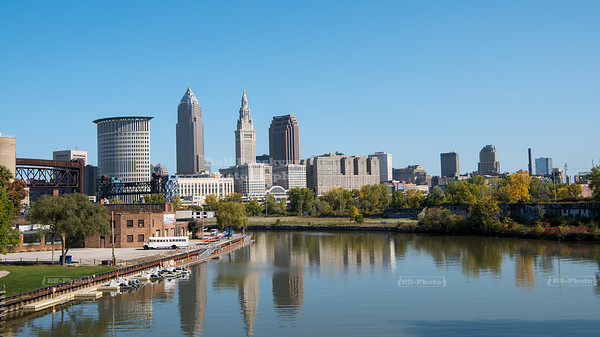 Cleveland Skyline, Ohio