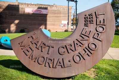 Hart Crane Memorial in Cleveland, Ohio