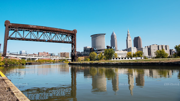 Skyline of Cleveland, Ohio
