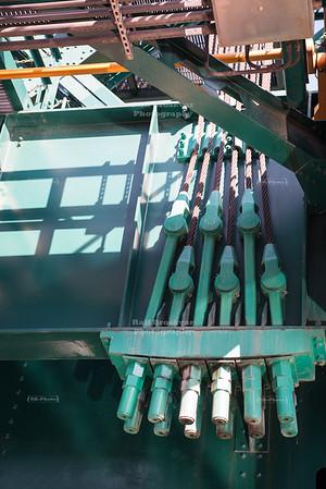 Columbus Road Lift Bridge in Cleveland, Ohio