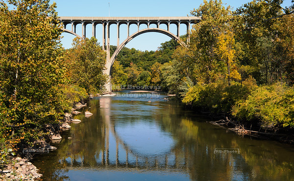 Brookpark Viaduct in Cuyahoga National Park, Ohio, USA
