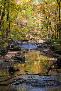 Deerlick Creek, Bedford Reservation. Cuyahoga Valley National Park, Ohio, USA