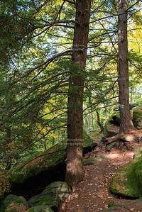 Virginia Kendall ledges in Cuyahoga Valley National Park, Ohio, USA