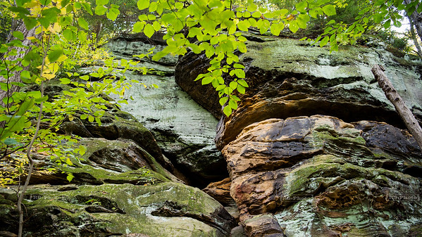 Virginia Kendall ledges in Cuyahoga Valley National Park, Ohio, USA