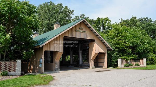 Montpelier Fairgrounds Covered Bridge, Williams County, Ohio