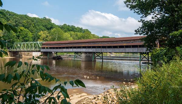 Harpersfield Covered Bridge, Ashtabula County, Ohio