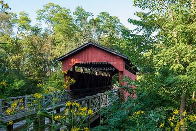 Shaeffer Campbell Covered Bridge, Belmont County, Ohio