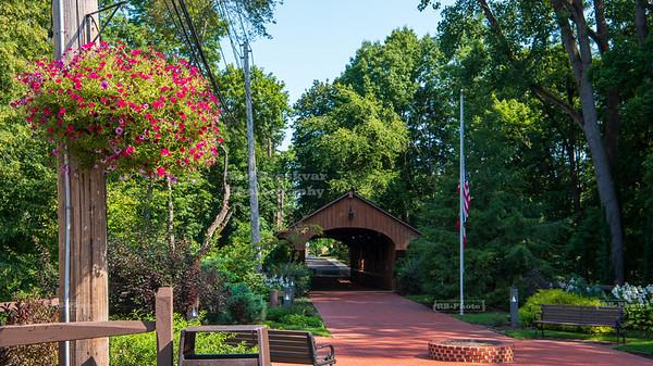 Charles A. Harding Memorial Covered Bridge, Cuyahoga County,  Ohio