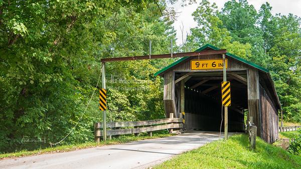 Riverdale Road Covered Bridge, Ashtabula County, Ohio