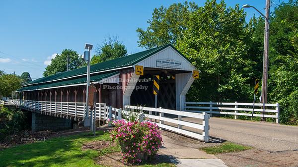 Newton Falls Covered Bridge, Trumbull County, Ohio