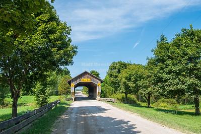 Caine Road Covered Bridge, Ashtabula County, Ohio