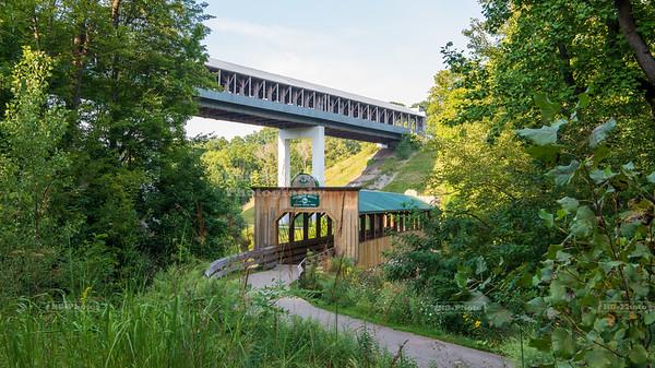 Riverview Covered Bridge, Ashtabula County, Ohio