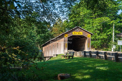 Creek Road Covered Bridge, Ashtabula County, Ohio