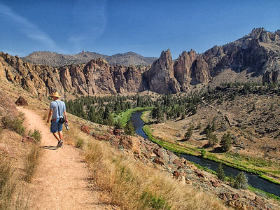 Smith Rock State Park in Terrbonne, Oregon